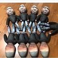 フロイドさんを模したクッション人形(画像は『Daily Star 2020年7月10日付「Bizarre George Floyd £40 stress dolls from toymaker spark fury as he gets death threats」(Image: CEN/@georgefloydtoysofficial.com)』のスクリーンショット)