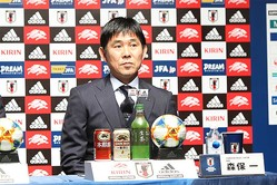 日本代表の森保一監督【写真:Football ZONE web】