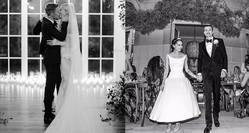 モードな花嫁のお手本! おしゃれセレブの最旬ウェディングドレス。
