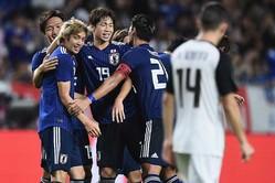 日本はコスタリカ相手に3-0で快勝した【写真:Getty Images】