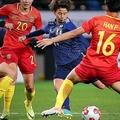 2戦連発となる決勝点を挙げた田中。チームにとって頼もしい得点源となっている。写真:茂木あきら(サッカーダイジェスト写真部)