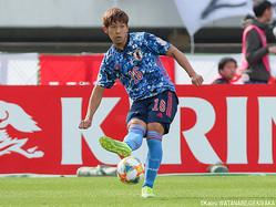 U-22日本代表DF岩田智輝(大分)