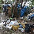 荒川の河川敷に住む79歳のホームレス 台風の夜をどう過ごしたのか