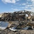 米軍などが駐留するイラクのアサド空軍基地(2020年1月13日撮影)。(c)Ayman HENNA / AFP