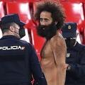 街中を平然と裸で歩いているというオルモ・ガルシア。どうやって侵入したのか? (C)Getty Images