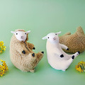 「羊の毛刈りがいつでもどこでも楽しめる 羊の毛刈りぬいぐるみ」