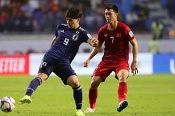 """""""代理の日韓戦""""と言われたベトナム戦は、韓国で異例の視聴率を記録。メディアはエネルギッシュなベトナムのサッカーを評価した。写真:茂木あきら(サッカーダイジェスト写真部)"""
