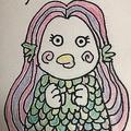 堀井雄二氏がTwitterでアマビエのイラスト公開「ドラクエに出てきそう」