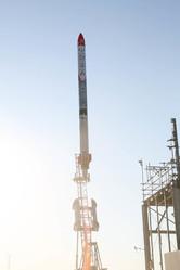 インターステラテクノロジズ(IST)の観測ロケット「宇宙品質にシフト MOMO 3号機」の打ち上げ 提供: インターステラテクノロジズ