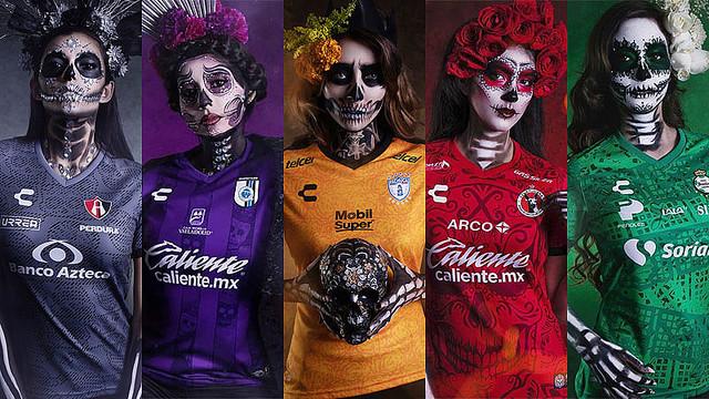 [画像] 美と恐怖の世界!メキシコの5チーム「死者の日ユニフォーム」祭り