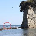 能登半島の観光地にあった「島」が消失 台風19号の高波で削りとられたか
