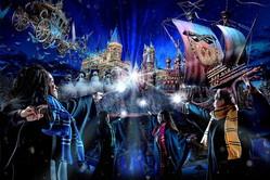 USJハリポタエリアの冬限定イベント「ホグワーツ・マジカル・ナイト 〜ウインター・マジック〜」