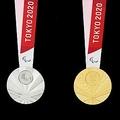 東京パラリンピックのメダル(大会組織委員会ホームページより)=(聯合ニュース)