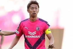 「サッカーを通じて大阪を盛り上げたい」と綴った清武。写真:茂木あきら(サッカーダイジェスト写真部)