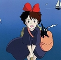 魔女のキキと黒猫のジジ  - (C) 1989 角野栄子・Studio Ghibli・N