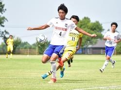 U-18日本代表に追加招集されたDF岡本將成(新潟U-18)
