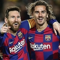 バルセロナのメッシとグリーズマン photo/Getty Images