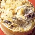 「きのこの豆乳グラタン」/料理:外処佳絵 撮影:野口健志