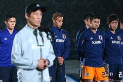 批判の声が殺到した日本代表。果たして本大会までにチームを立て直せるのだろうか。写真:山崎賢人(サッカーダイジェスト写真部)