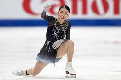 四大陸選手権で逆転優勝を飾った紀平【写真:Getty Images】
