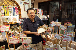 「玄米耕房 亀太商店」代表の市野澤利明氏