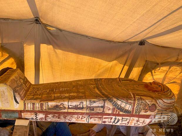 [画像] 2500年前の木棺14基発見、エジプトのサッカラ遺跡