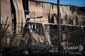 米テキサス州ヒューストンで発生した爆発により損傷した建物(2020年1月24日撮影)。(c)Mark Felix / AFP