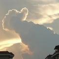 中国の女子高生が撮影した「いいね雲」にいいねが殺到