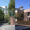 左が中京学院大中京、右が中京大中京(左がMonamiさん、右がUmakoさん撮影、Wikimedia Commonsより)