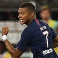 サッカー界屈指のスピードを誇るムバッペ photo/Getty Images