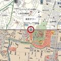 現在と昭和・江戸時代の古地図を同時表示できる「古地図 with MapFan」