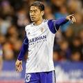 4試合ぶりに先発した香川。66分までプレーした。(C)Mutsu KAWAMORI