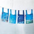 フェリシモ、海を持ち歩く気分になれる「洗濯ネットにもなる海のメッシュバッグ」を発売