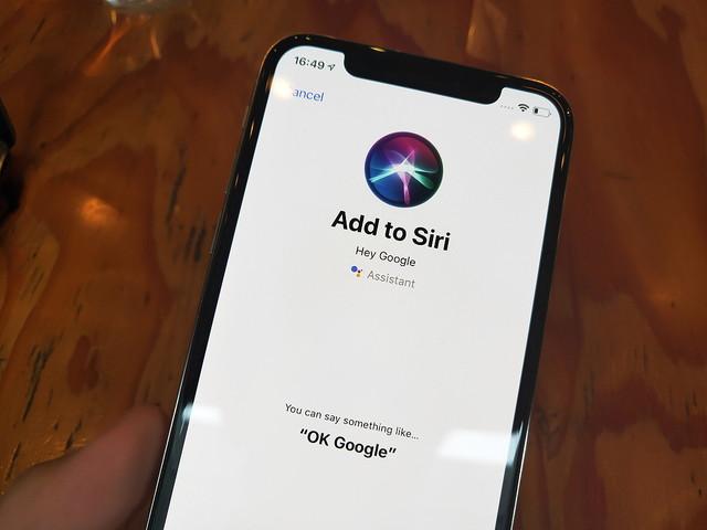 音声はまさかの「Hey Siri,OK Google」。iPhoneのSiriからGoogleアシスタント起動が可能に