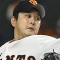 巨人の野上亮磨(C)KYODO NEWS IMAGES