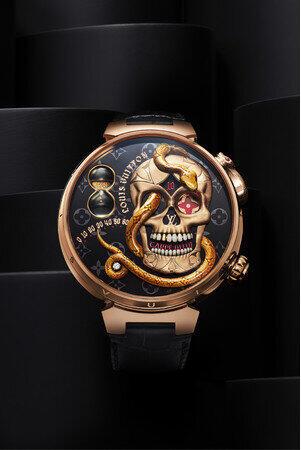 [画像] 「ルイ・ヴィトン」5550万円の腕時計 「売れ筋ランキング」にも1000万円台並ぶ