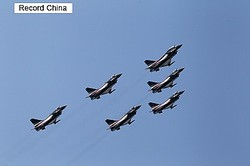 23日、鳳凰網は、「平成の零戦」と呼ばれる日本のF2戦闘機と、中国のJ10戦闘機を比較する動画記事を掲載した。写真は「J10」。
