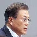 緊急閣議で発言する文大統領=2日、ソウル(聯合ニュース)