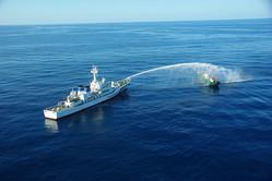 北朝鮮が日本に賠償要求、故意に沈没漁船に衝突と主張
