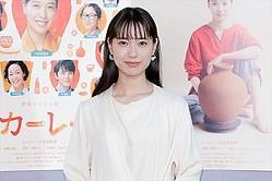 連続テレビ小説『スカーレット』完成試写会に登場した戸田恵梨香