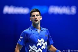 男子テニスのノバク・ジョコビッチ(2020年11月20日撮影)。(c)Glyn KIRK / AFP
