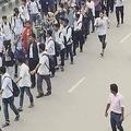 日本では報道されず バングラデシュで起きた中高生の抗議運動