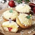 クリスマスピックがキュートな「PABLO mini ホワイトラズベリー」(300円)が新登場