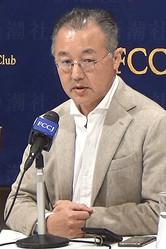 12月19日、日本外国特派員協会で会見した山口敬之氏