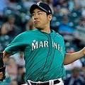 タイガース戦に先発登板したマリナーズ・菊池雄星【写真:AP】