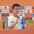 U-20日本代表キャプテンのMF齊藤未月【写真:林遼平】