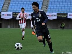 U-16日本代表の10番を背負うFW青木友佑