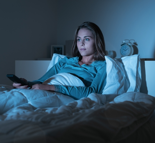 [画像] テレビつけたまま寝ると太る、肥満と「顕著な関連」