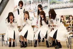 2月11日、「けやき坂46」が「日向坂46」に改名することがサプライズ発表された /撮影=神保達也 (C)テレビジョン