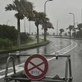 台風19号が伊豆半島に上陸「非常に強い」から「強い」にやや勢力弱める